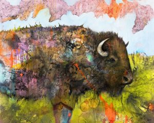 Bison Journey - Glen Ronald