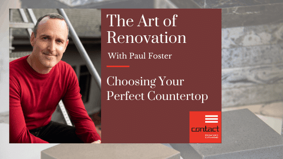 The art of renovation - granite vs. quartz - how to choose the right countertop