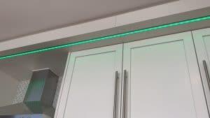 Kitchen lighting- over cabinet lighting