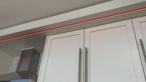 Kitchen lighting- over cabinet lighting