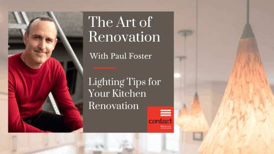Art of renovation- lighting tips for your kitchen renovation