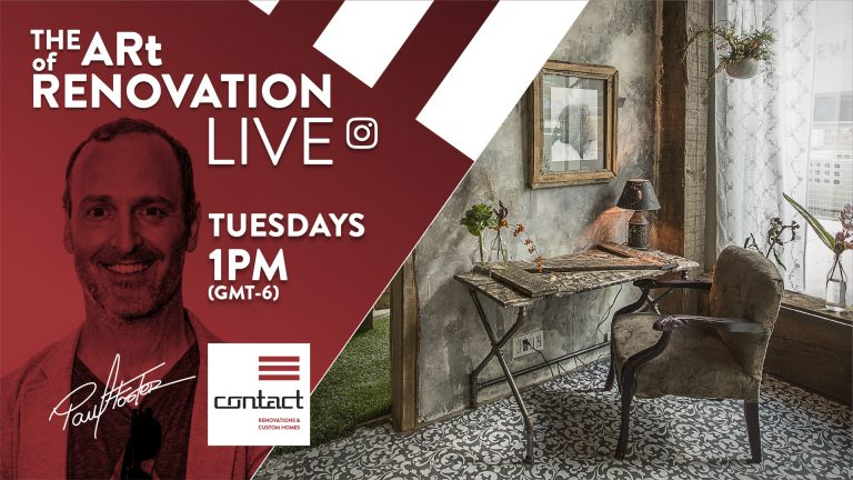 The Art of Renovation LIVE!