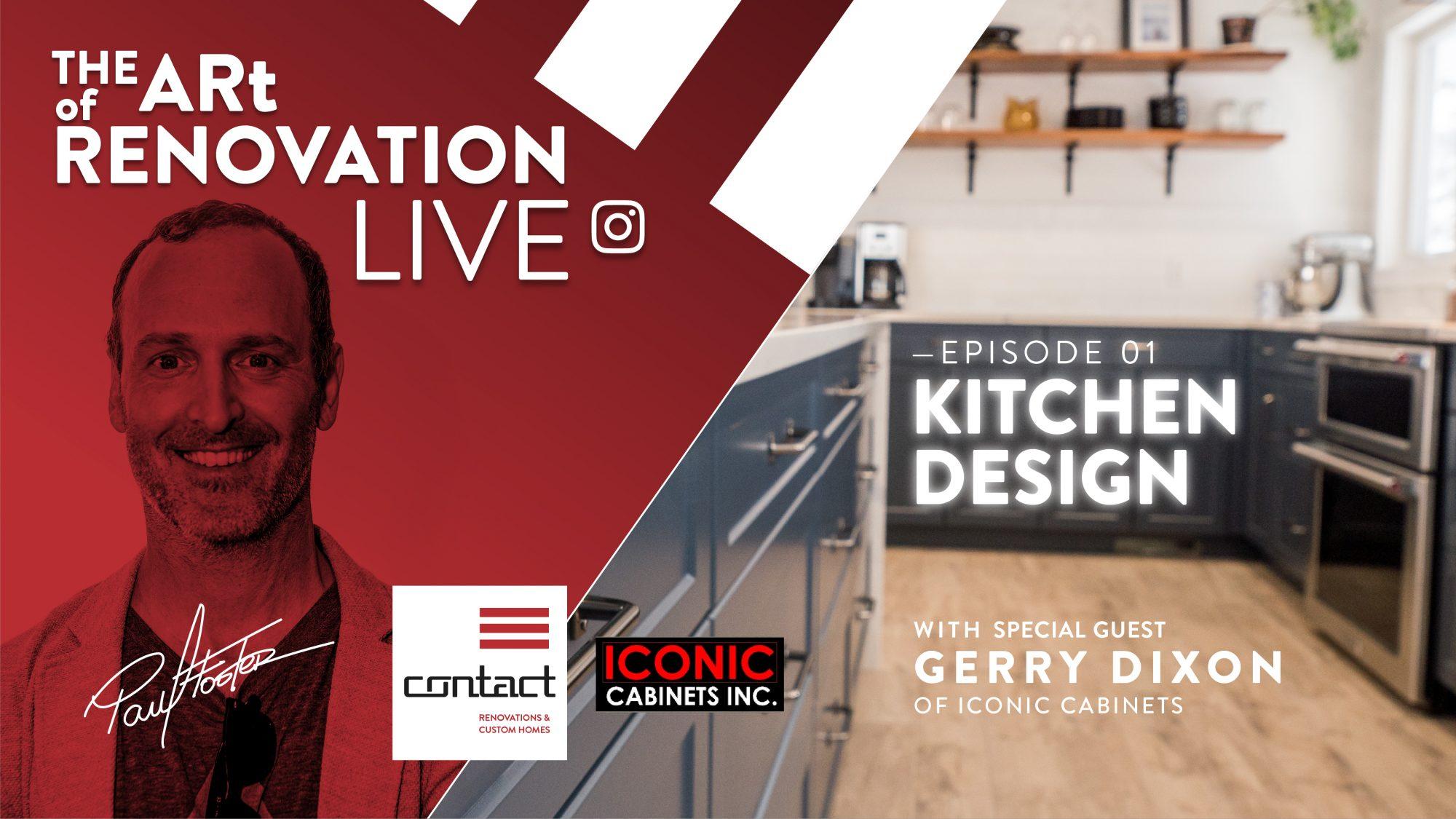 The Art of Renovation LIVE! Kitchen Design