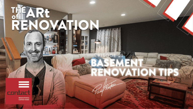 Tips to plan your basement renovation