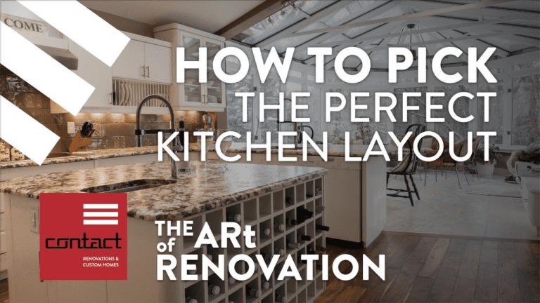 Pick the perfect kitchen layout