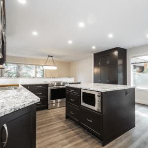 Brighten a condo kitchen