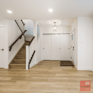 Entry way renovation