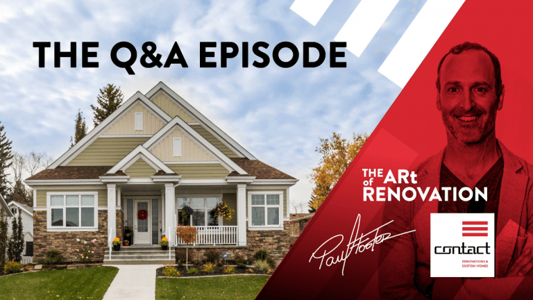 Art of Renovation LIVE home renovation questions and answers episode