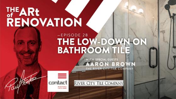 Bathroom tile design and installation tips