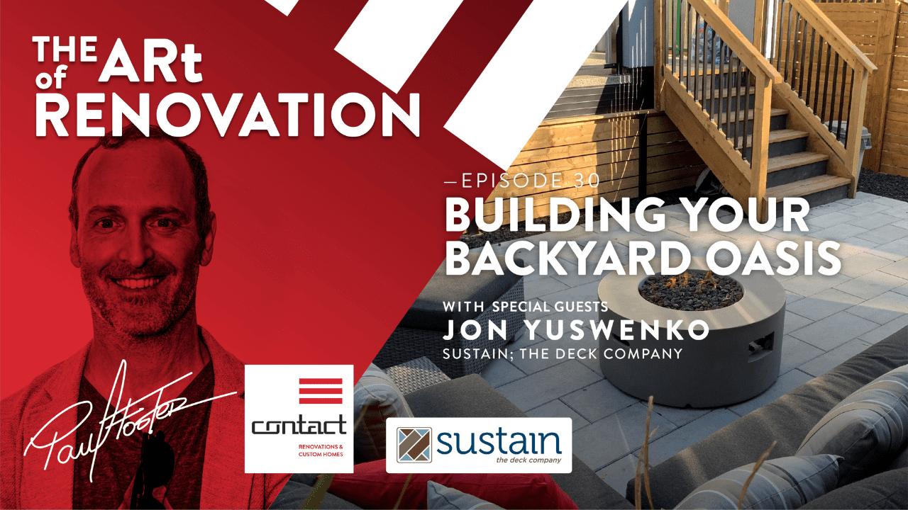 The art of renovation LIVE! building your backyard oasis deck and pergola design tips website header