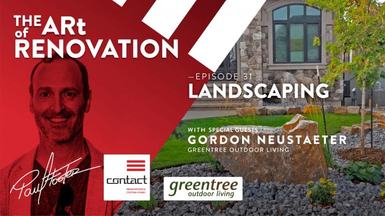 art of renovation LIVE! landscaping episode blog header