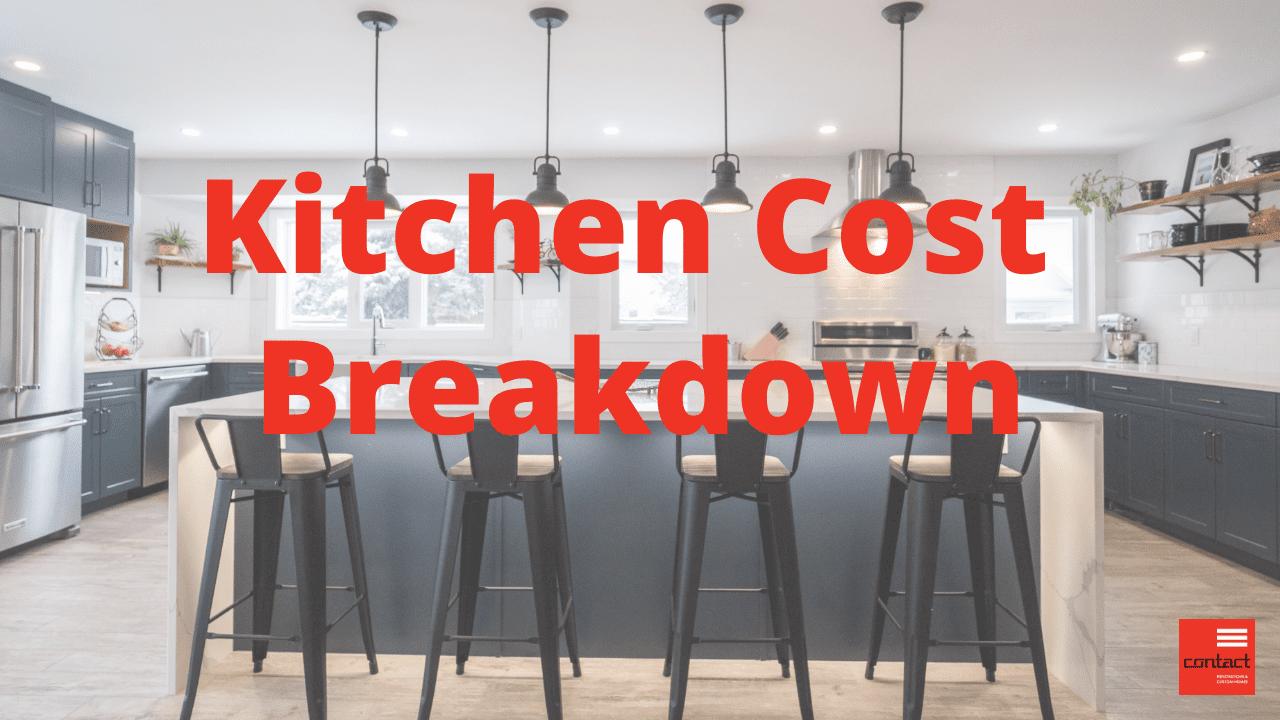 Kitchen Cost Breakdown youtube thumbnail