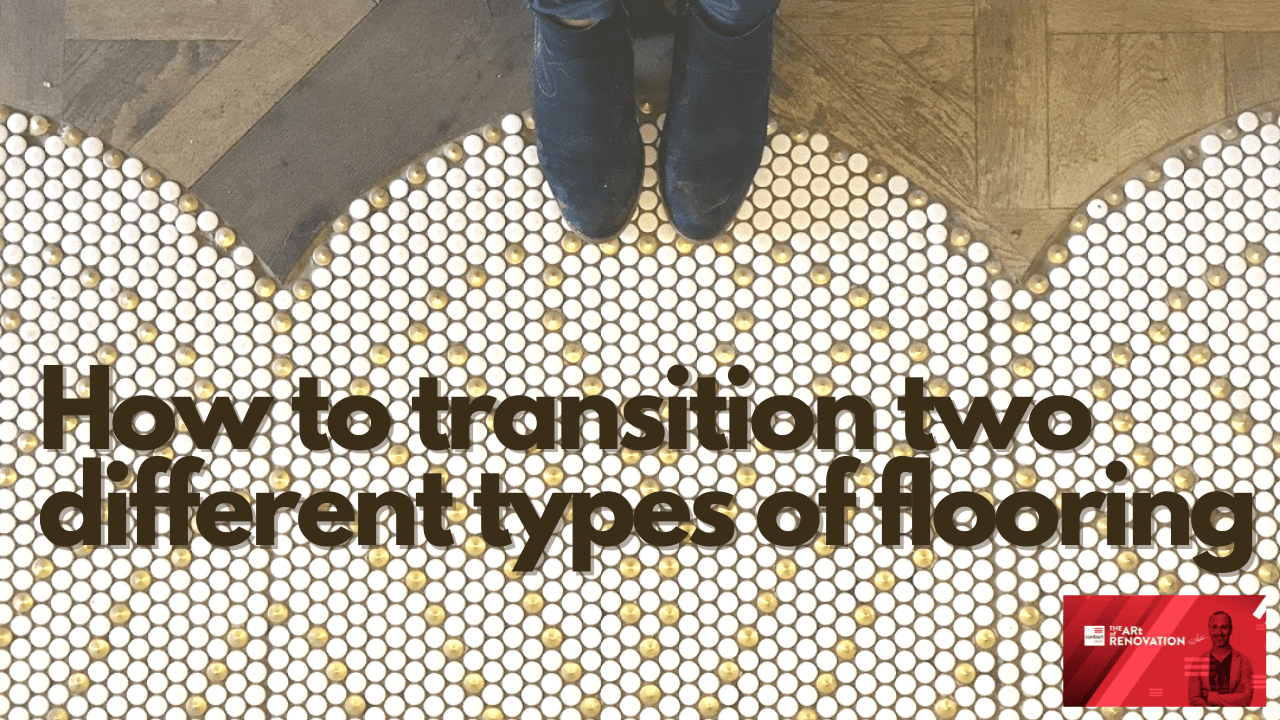 how to transition two different types of flooring