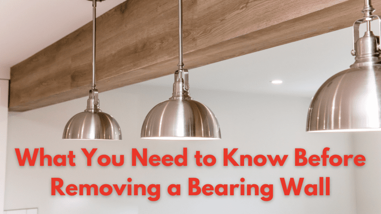 What You Need to Know Before Removing a Bearing Wall