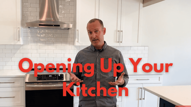 3 tips for creating your open concpet kitchen